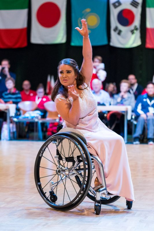 Sofie Cox - dancing in the wheelchair